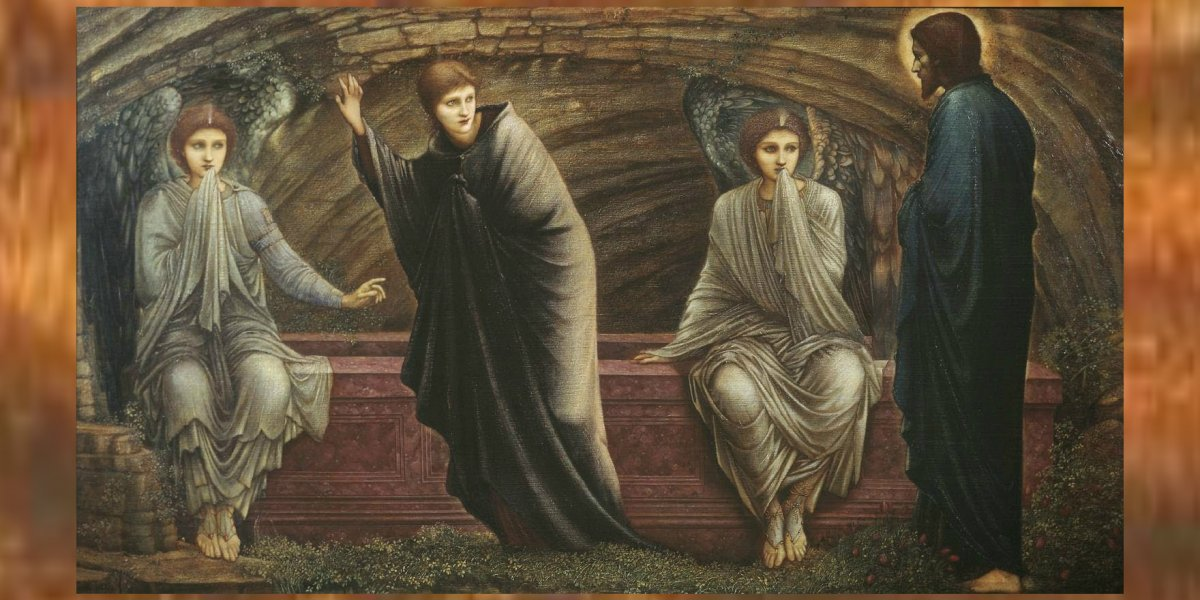 Edward Coley Burne-Jones, The Morning of the Resurrection, 1886 – London, Tate Gallery